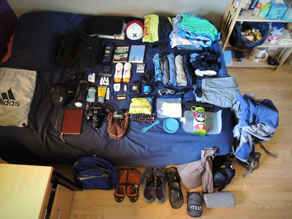 what to pack wwoofing