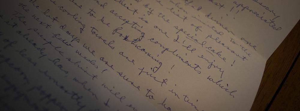 Letter from Hunter S. Thompson