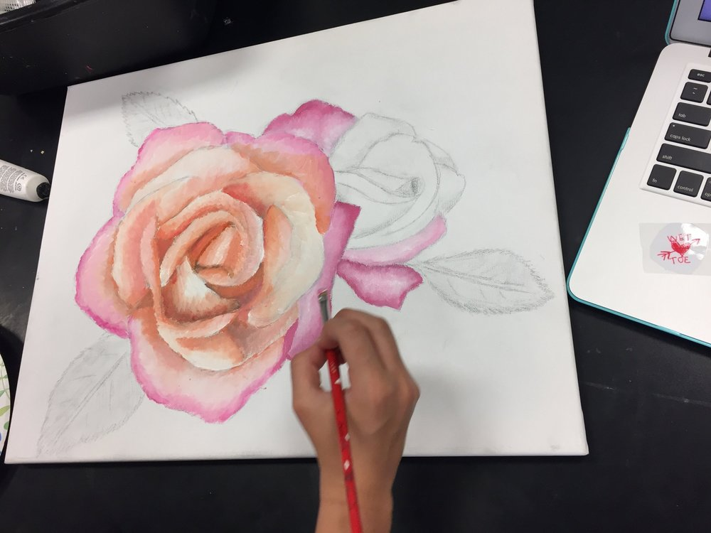Photo of student work. Use only with permission.