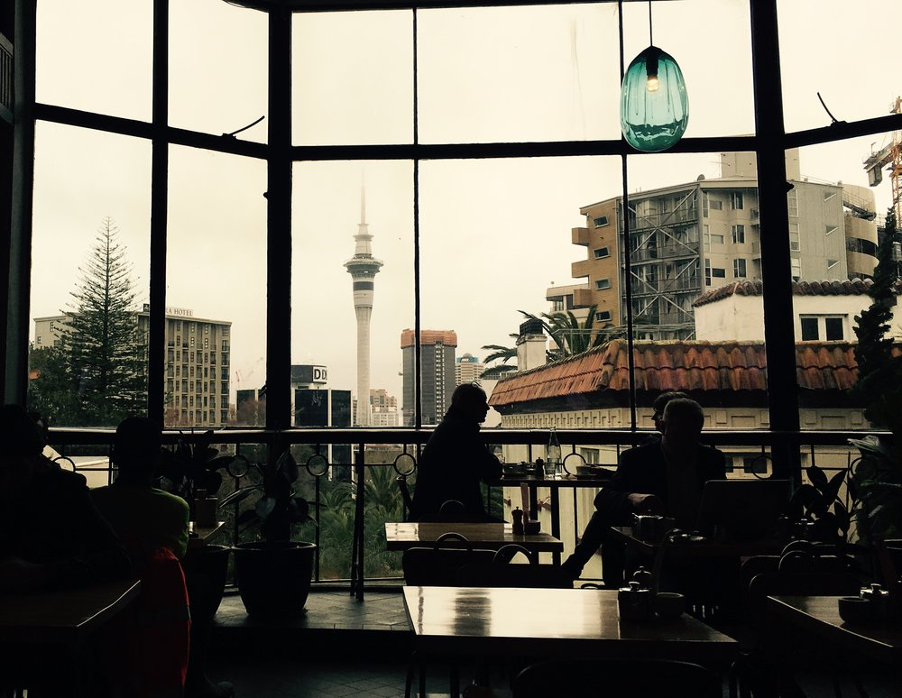 View from Bestie Cafe - K Road, Auckland