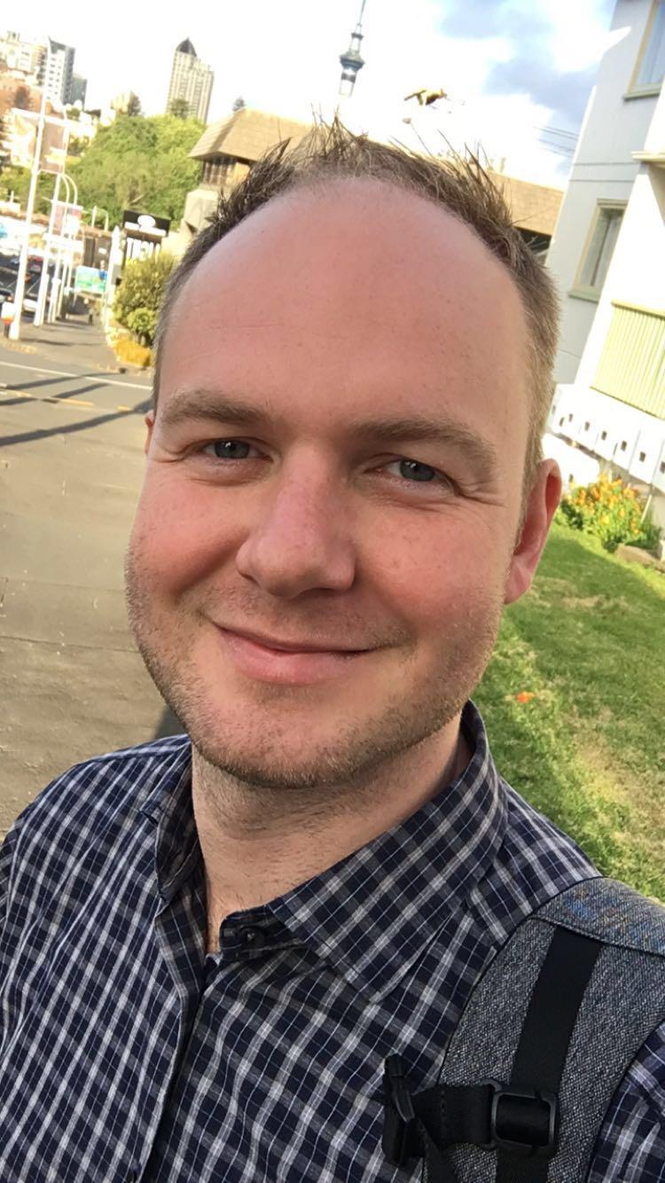Me in December 2017