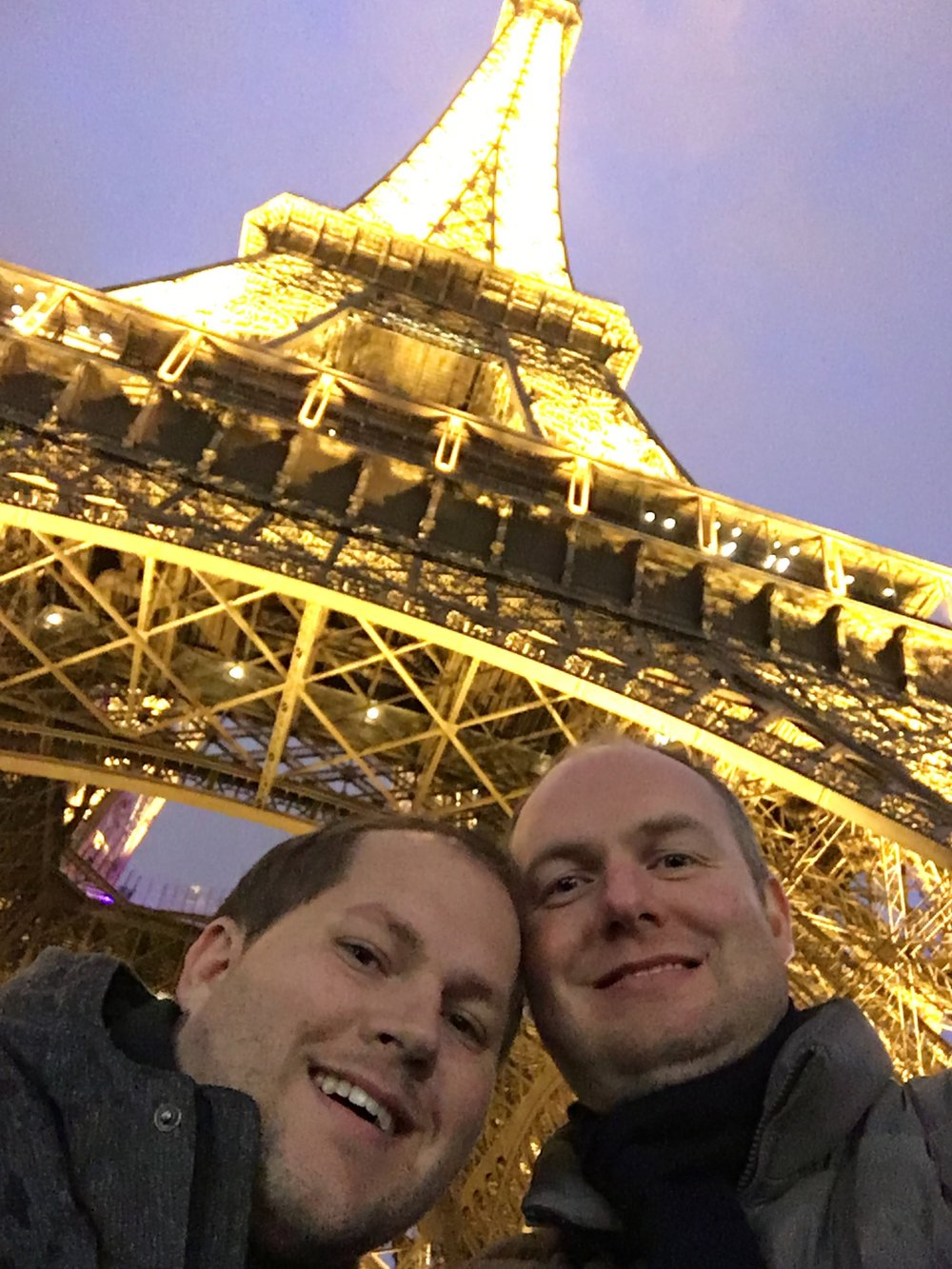 First time in Paris for both of us