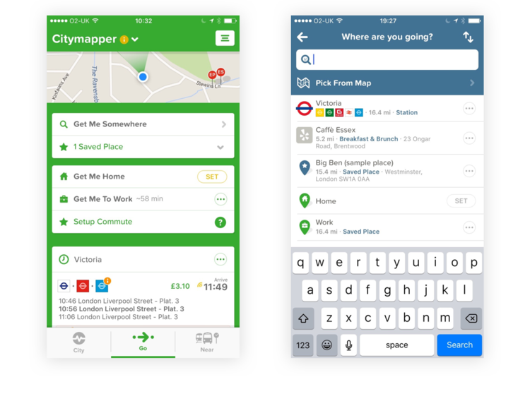 citymapper a high level redesign daniel beard
