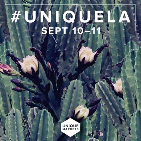 @uniquemarkets is quickly approaching! Make sure to purchase your tickets NOW for this amazing event! #uniquela #lafashiondistrict #dtla #artisan