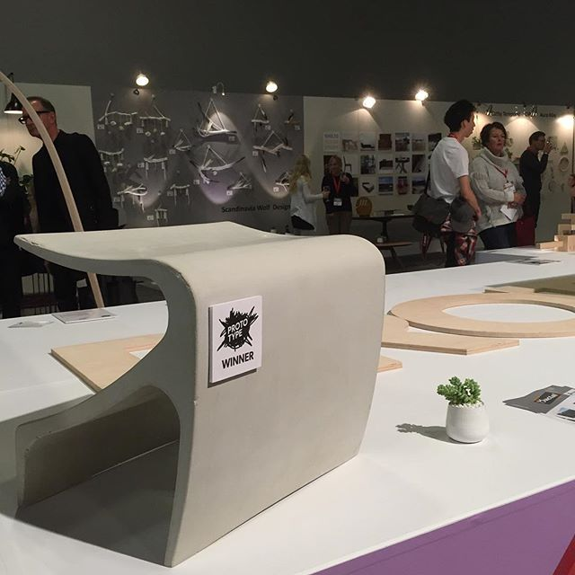 Congratulations to our fellow Prototype winner @arosteguistudio for their Sofi Bench! #idswest #design #compositedesign