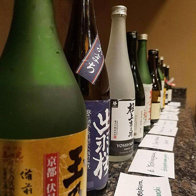 Thank you to @johngauntner for an enlightening Sake experience. 🍶 On to more tasting...Kanpai! 🏮 #SakeProfessionalCourse #sakesommelier