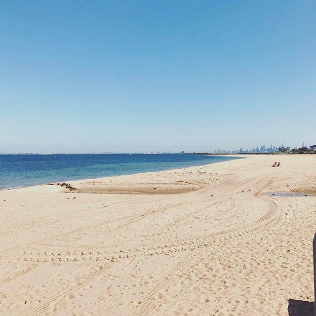 Morning walk 🚶🏼♀️🚶🏼♀️🚶🏼♀️ #brighton #beach #summer #baby #kids #swimwear #MadeInAustralia #melbourne #RowingAndCo