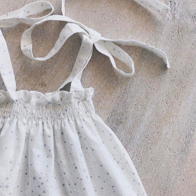 Thousand of stars ✨✨✨ #summer #beach #stars #girl #baby #collection #delicate #BabiesAreBabies #love #european #style #handmade #MadeInSpain #melbourne #details #clothing #fashion #kidsfashion #RowingAndCo