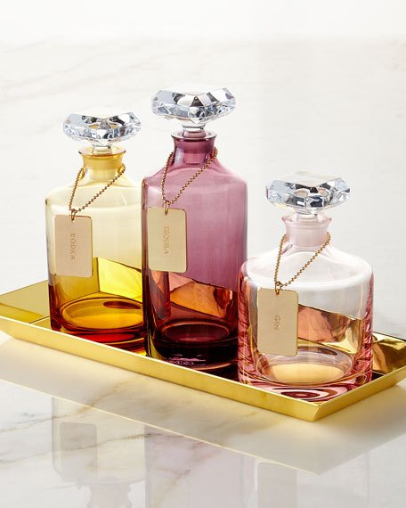 Waterford Rebel Collection, luxury set of three & tray