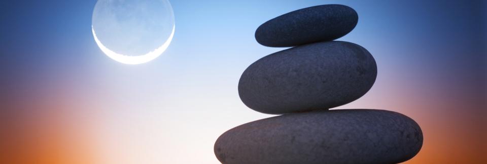 Balancing Moon Cycle Stones