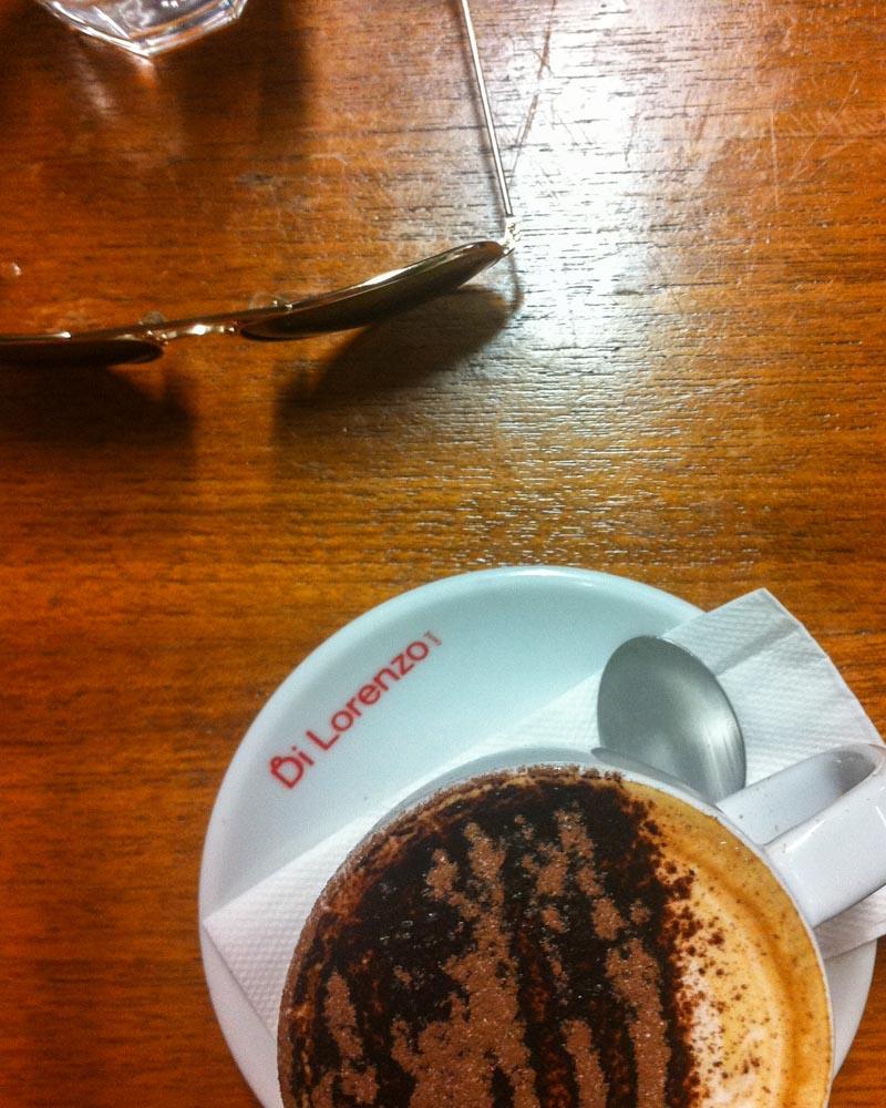 Coffee requisite.