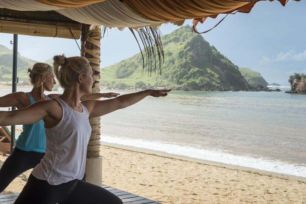 Novotel Lombok yoga