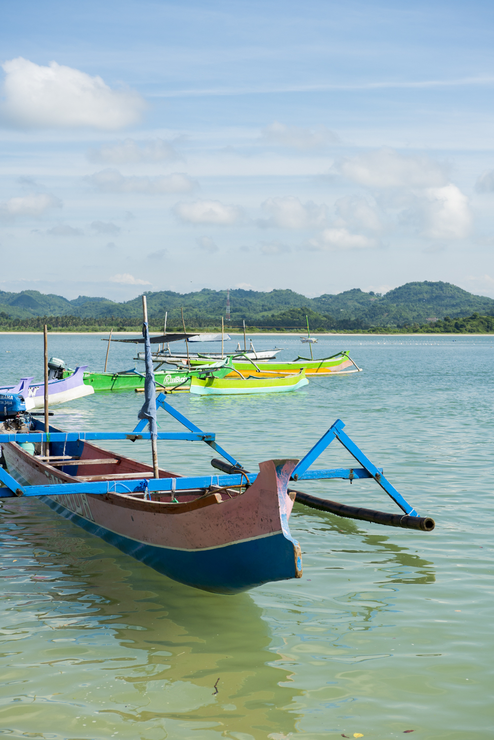 Lombok Surf boats