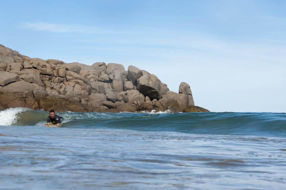 Big kids can have fun at Horseshoe Bay, Port Elliot SA too.
