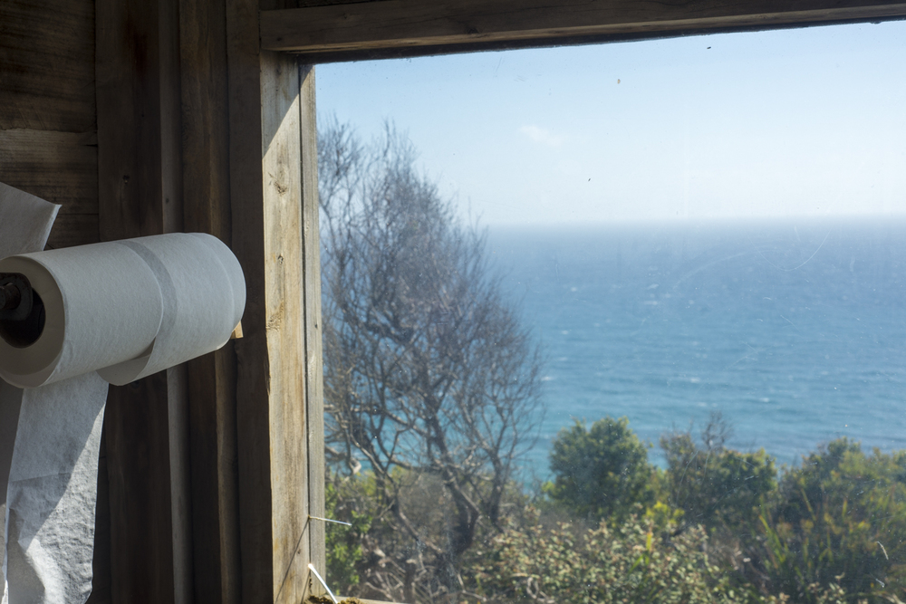 Loo with a view! Don't get a view like this from the dunny too often.