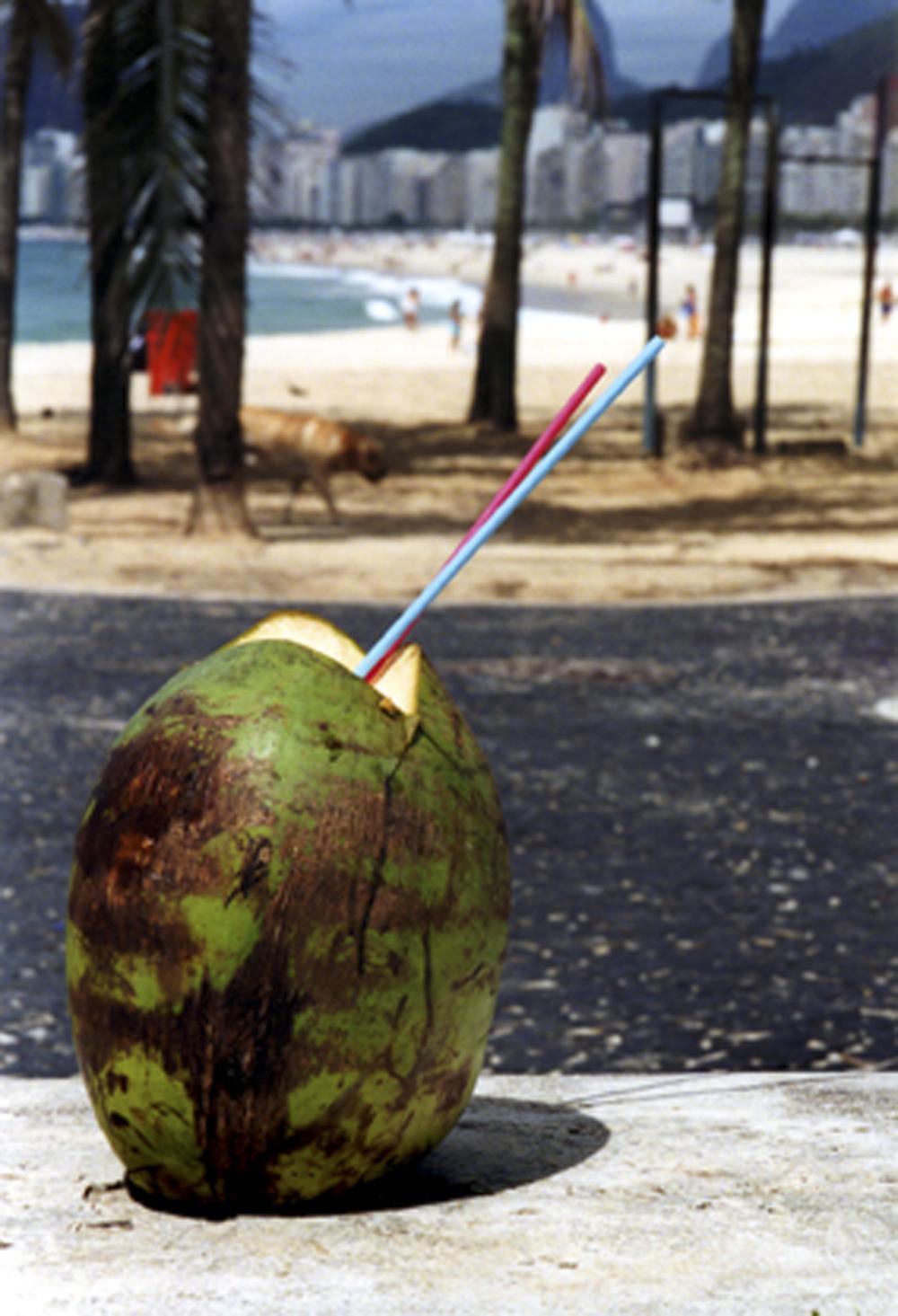 BRAZIL, Rio De Janeiro, coconut