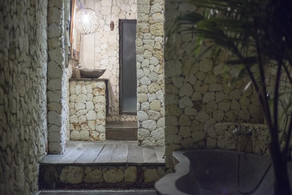 Rapture outdoor bathroom