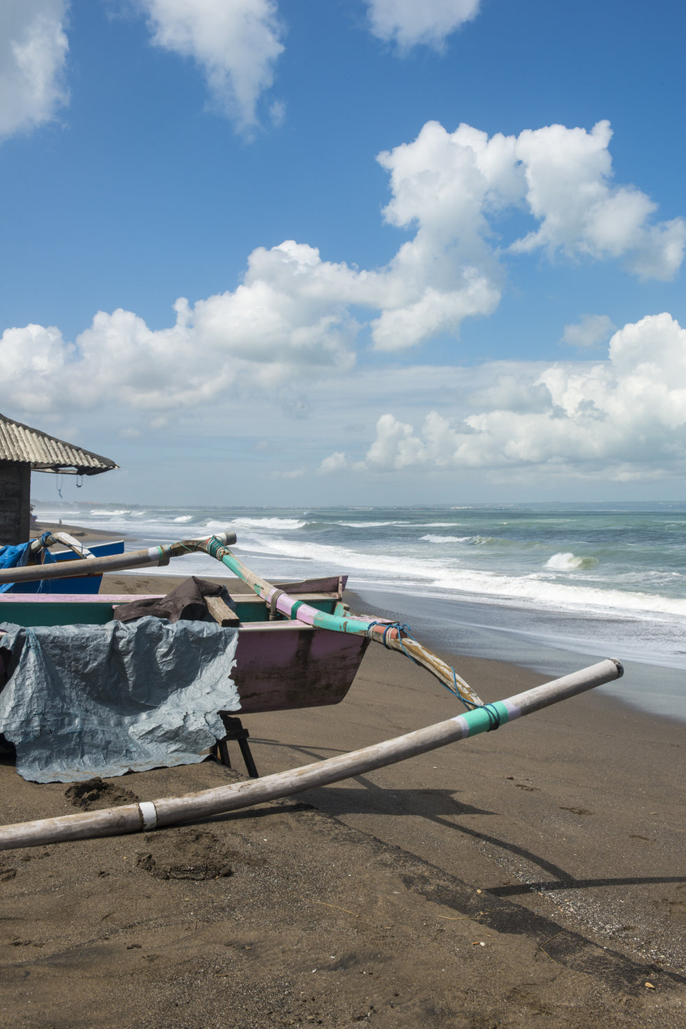 A deserted beach in Bali? Yes, it exists.