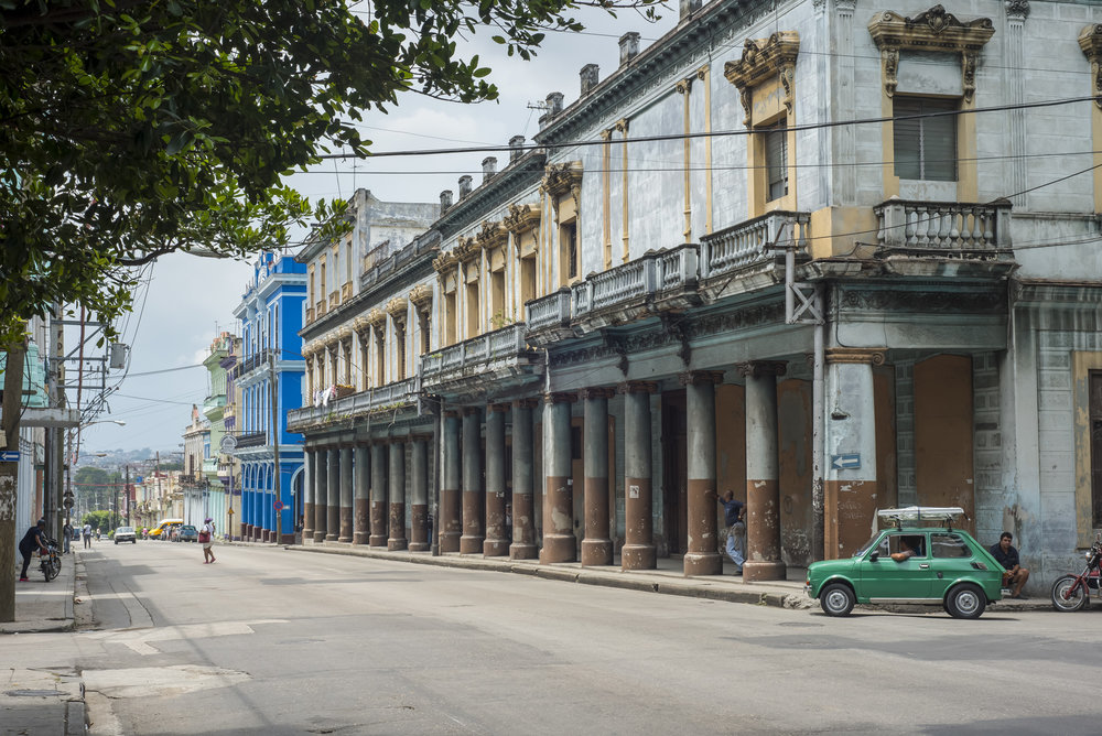A typical street in Havana