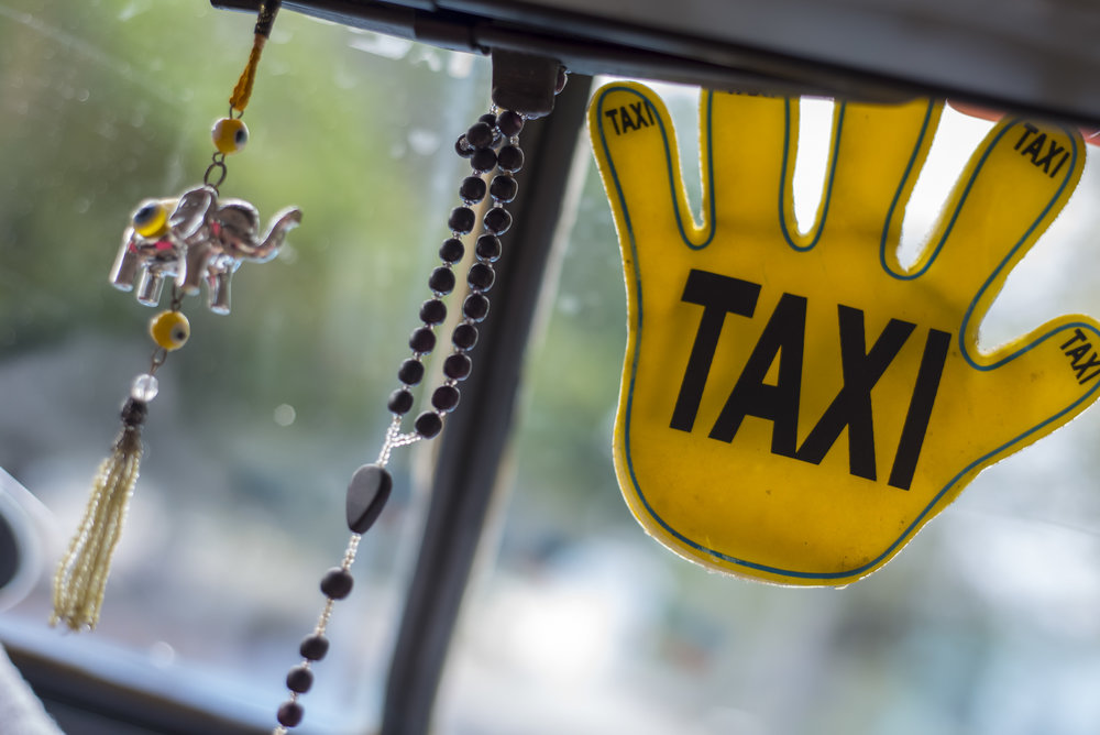 Taxis are a feast for all senses.