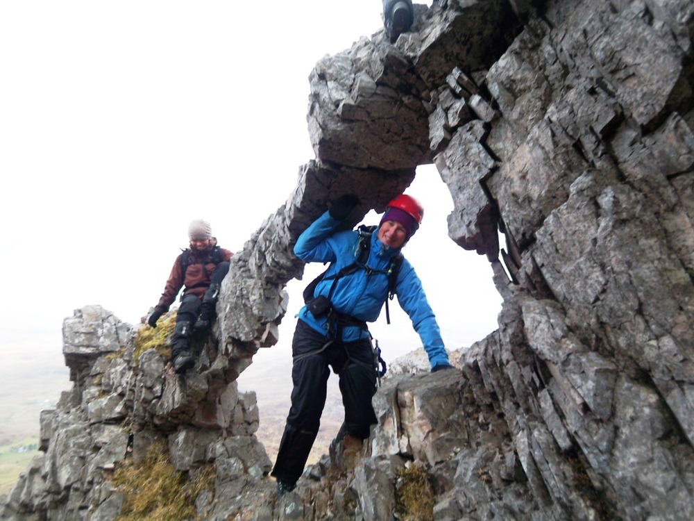 Scrambling on the north ridge of Errigal.jpg