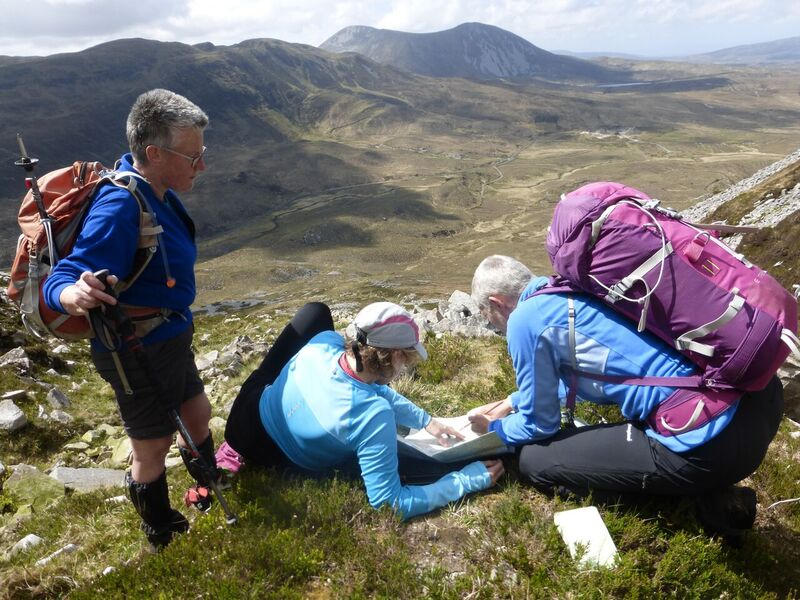 Map reading on Muckish.jpg