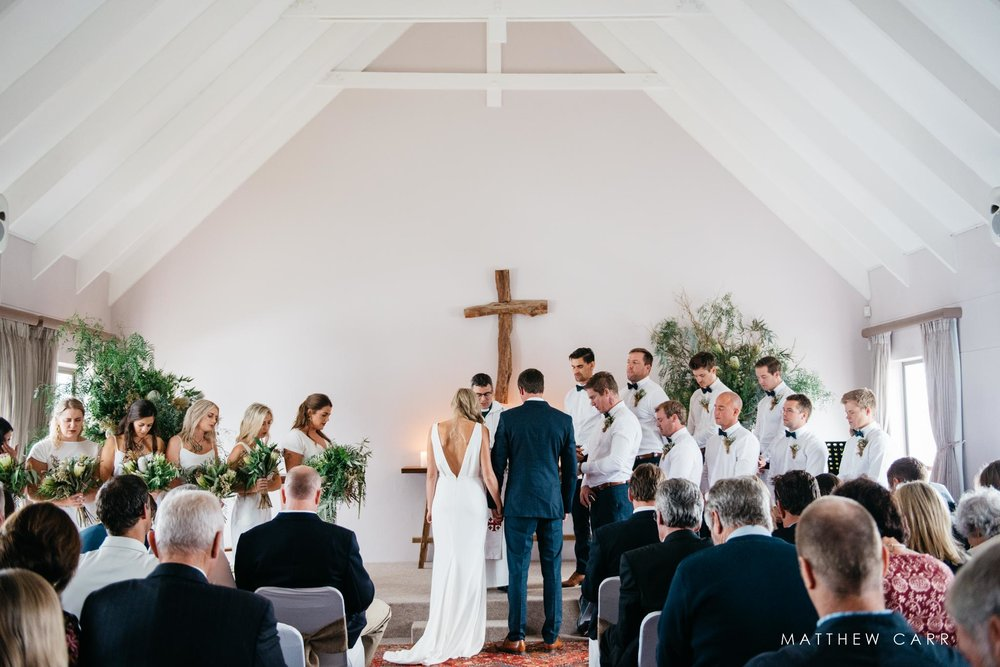 church ceremony st francis wedding