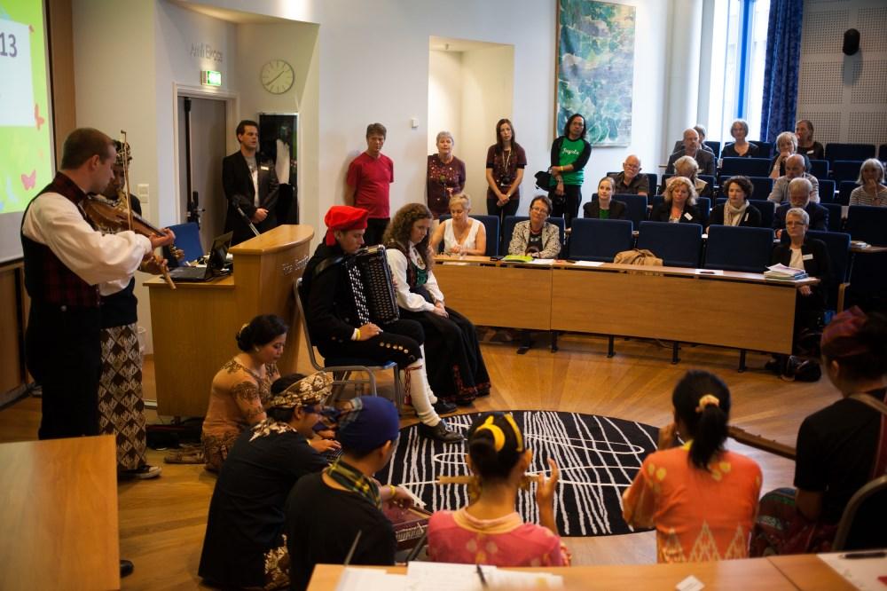 Talent 2013 med musikkinnslag på Førdekonferansen 2013 Foto Oddleiv Apneseth