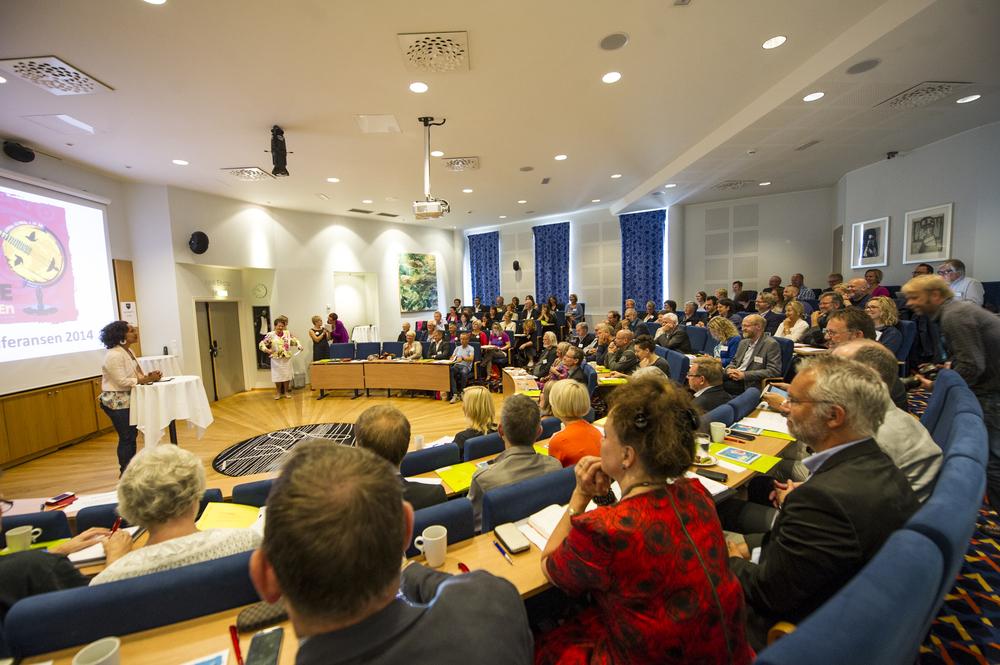 Førdekonferansen 2014 samla mange interesserte. Vi håpar på god debatt også på årets konferanse.