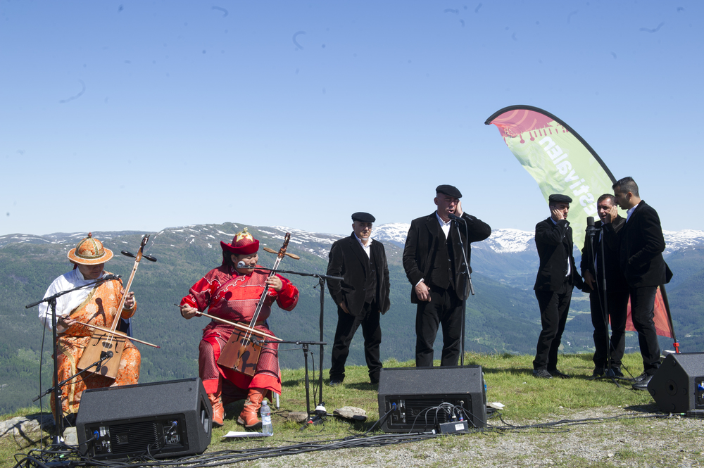 Nomadic Voices - på Hafstadfjellet