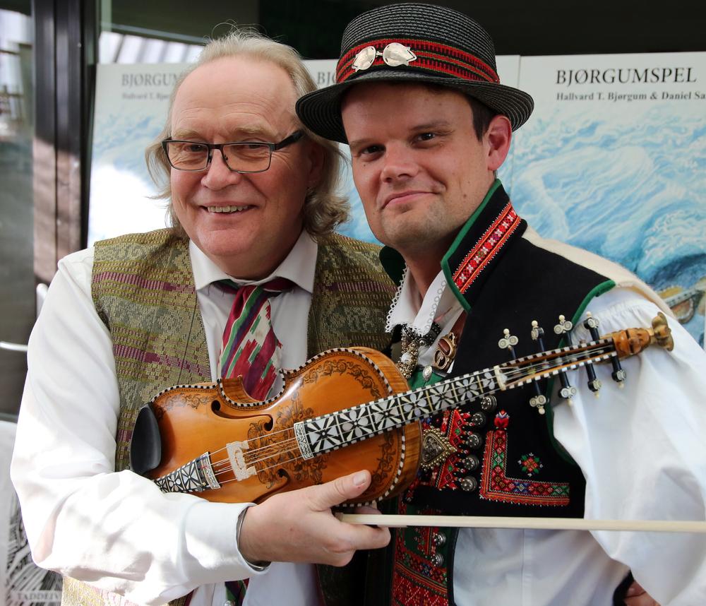 Hallvard T. Bjørgum og Daniel Sandén-Warg. Foto: Knut Utler