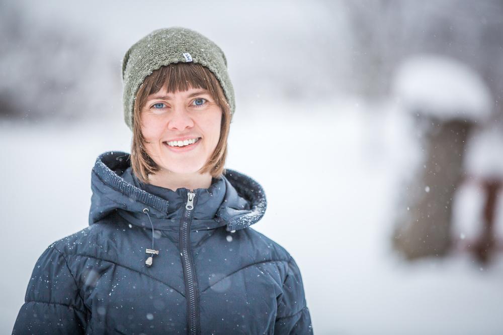 Gro Marie Svidal har gjort svenske av seg, men slepper si andre plate heime i Jølster. Foto: Martin Hugne