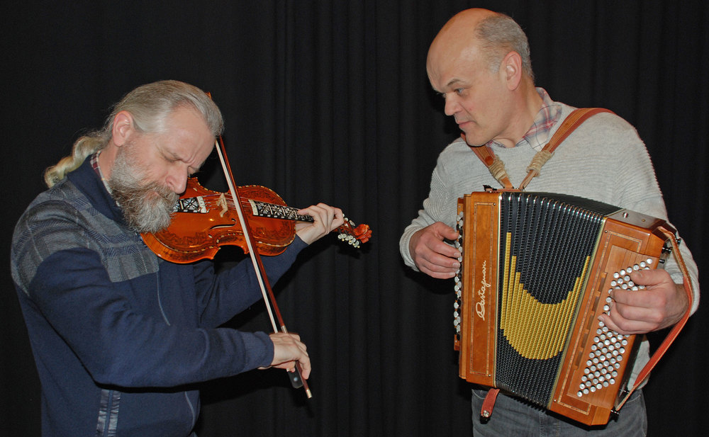Håkon Høgemo og Tom Karlsrud