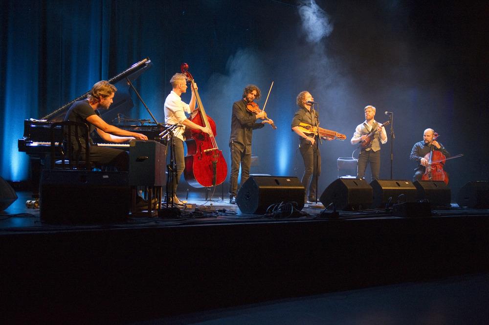 Gjermund Larsten Trio & Nordic. Foto: Geir Birkeland.