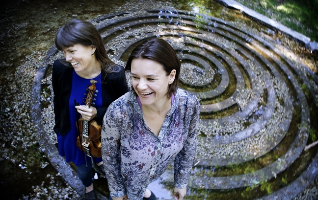 Benedicte Maurseth og Ruth Lillegraven. Foto: Paal Audestad.