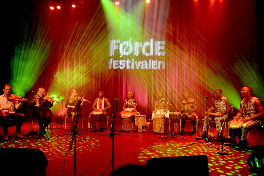 Foto frå talentkonserten på Førdefestialen 2016. Foto: Arve Ullebø