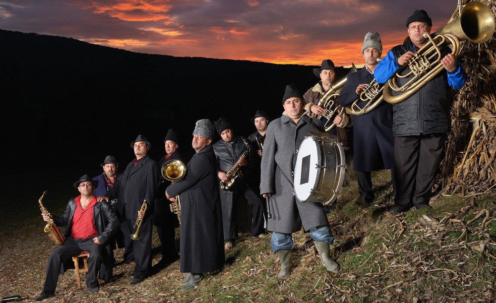 Fanfare Ciocarlia,eit av verdas beste brassband kjem til Førde - igjen!