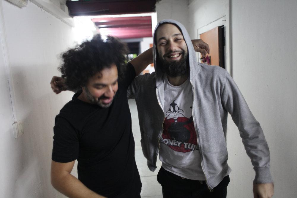 Muchacho og broren Enrique