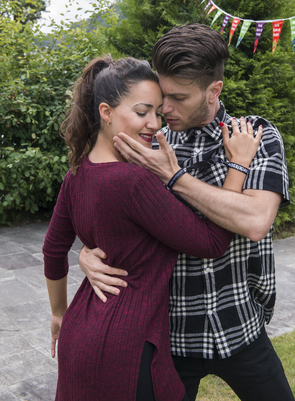 Mercedes Jaldón og Manuel Ramírez har mange uttrykk å spele på. (Foto: Marianne Lystrup)