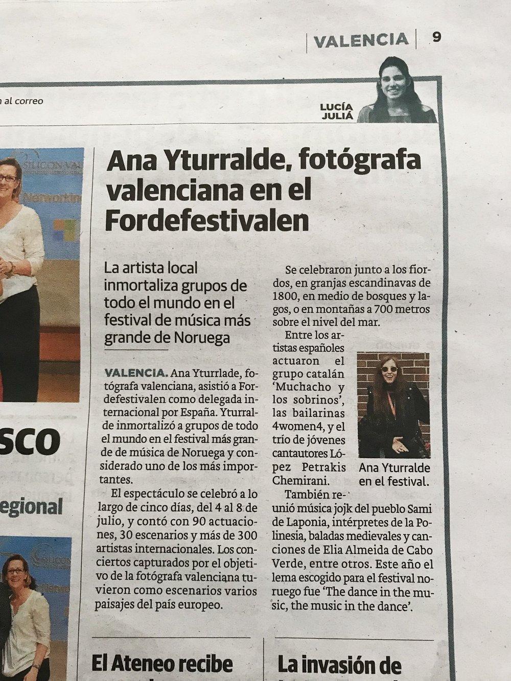 Omtale Las Provincias - papir - Spania.jpg