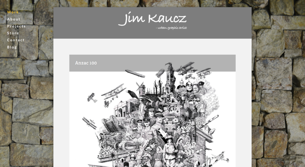 Jim Kaucz  - urban graphic artist