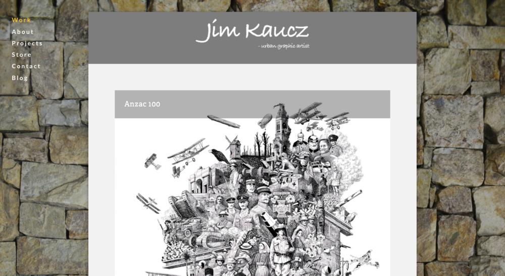 Jim Kaucz  - urban graphic artist