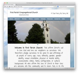 Visit the First Parish Church website to learn more.