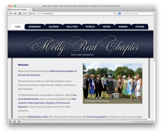 Visit the Molly Reid Chapter website to learn more