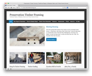 Visit the Preservation Timber Framing, Inc. website to learn more