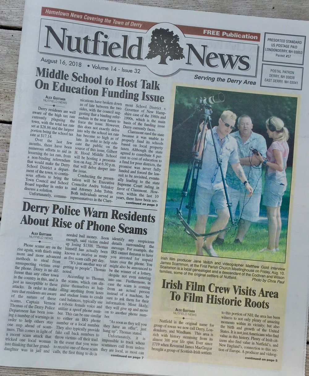 Nutfield News August 16, 2018