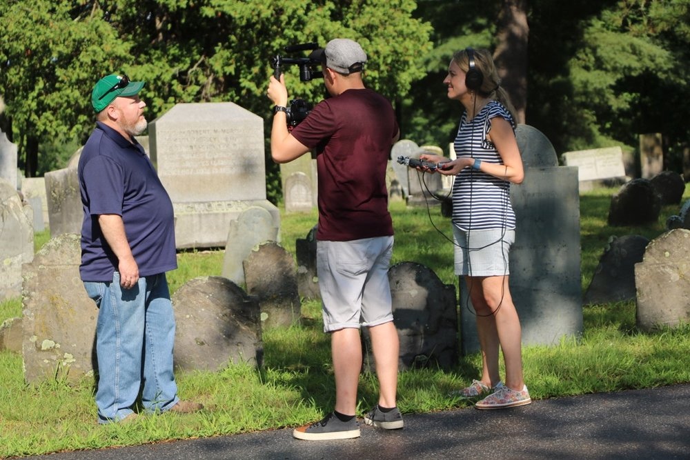 MacMIllan Media filming, 2018