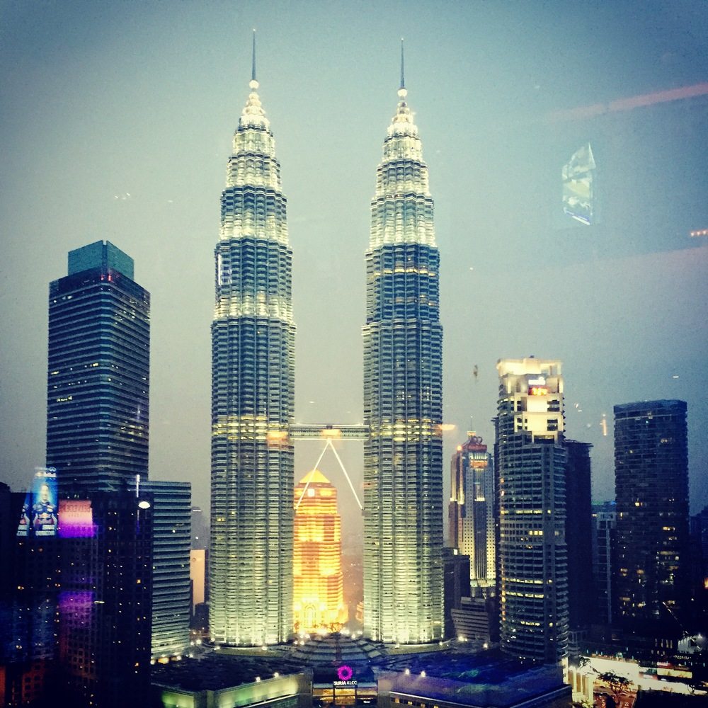 The Twin Towers (of KL)...