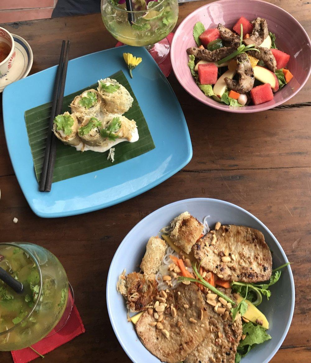 Fusion food and cocktails at Mango Mango