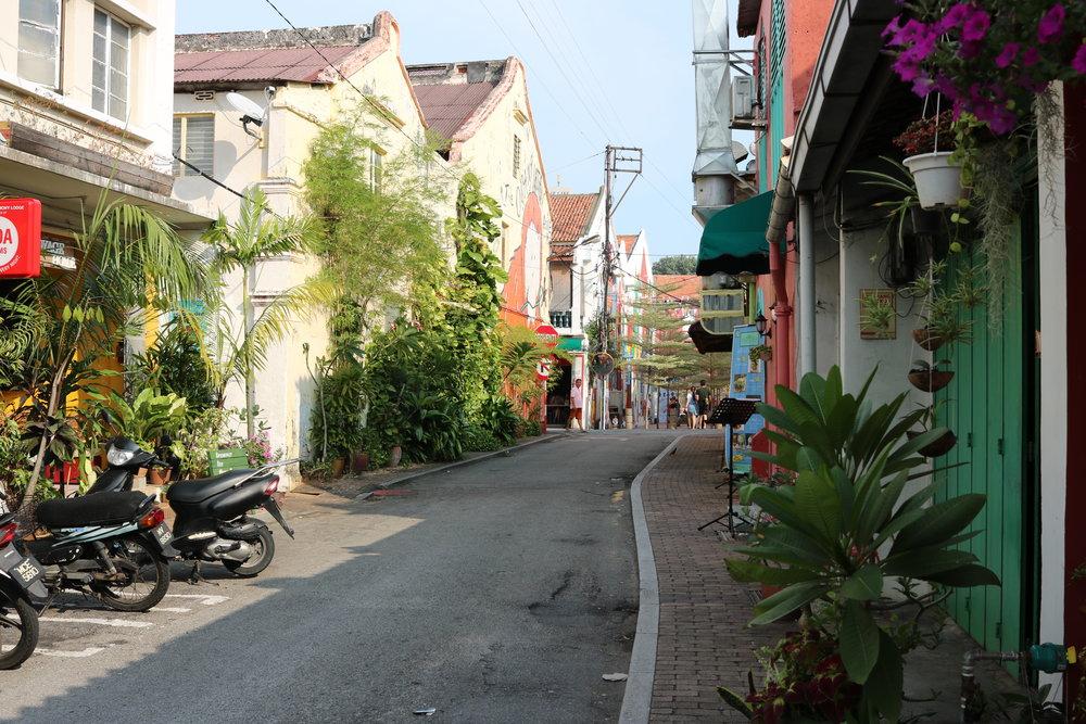 Shophouses of Melaka.